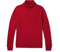 Virgin Wool Rollneck Sweater