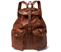 Riley Leather Backpack