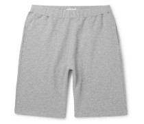 Brushed Loopback Cotton-Jersey Shorts