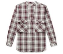 Carpenter Checked Cotton-Flannel Shirt