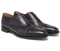 Roccia Cap-toe Leather Oxford Shoes