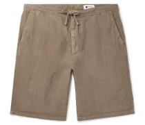 Copenhagen Slim-Fit Garment-Dyed Linen Drawstring Shorts