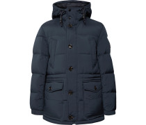 Delario Quilted Shell Hooded Down Jacket