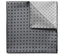 Polka-dot Silk-twill Pocket Square
