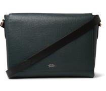 Full-Grain Leather Messenger Bag