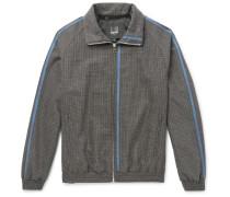 Wool-tweed Selvedge Track Jacket