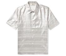 Striped Silk-Blend Shirt