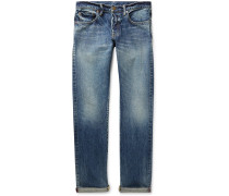 Slim-Fit Selvedge Denim Jeans