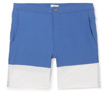 Calder Long-length Colour-block Swim Shorts