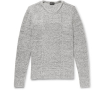 Slim-fit Mélange Wool-blend Sweater