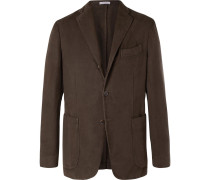 Brown K-jacket Cotton-moleskin Blazer