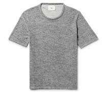 Cotton-blend Terry T-shirt