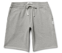 Loopback Cotton-jersey Drawstring Shorts