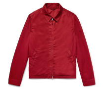 Garment-dyed Cotton-twill Blouson Jacket