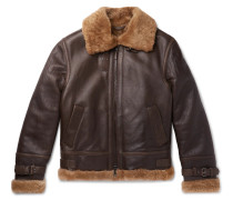 Shearling Jacket - Brown