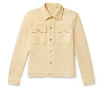 Eric Crochet-Knit Jacket
