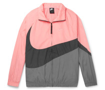 Colour-Block Shell Jacket