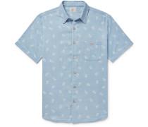 Pineapple-print Cotton Shirt