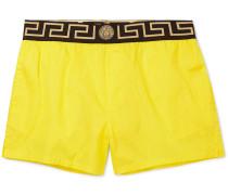 Short-length Swim Shorts - Yellow