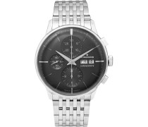 Meister Chronoscope 40mm Stainless Steel Watch - Black