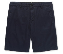 Cotton-twill Shorts - Navy