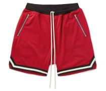 Mesh Drawstring Shorts