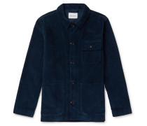 Cord Board Cotton-corduroy Chore Jacket - Navy