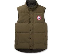 Garson Slim-Fit Quilted Arctic Tech Down Gilet