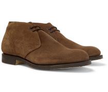 Sahara Suede Desert Boots - Brown