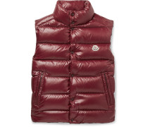 Tib Slim-Fit Quilted Shell Down Gilet