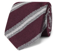 8cm Wool and Silk-Blend Tie
