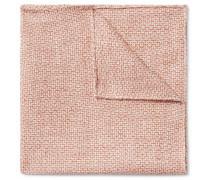 Culcross Linen-Jacquard Pocket Square