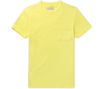Sammy II Garment-Dyed Slub Cotton-Jersey T-Shirt