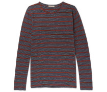 Orvar Striped Organic Cotton T-shirt