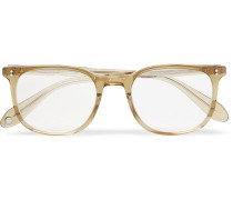 Bentley 51 Square-frame Acetate Optical Glasses - Brown