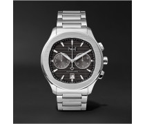 Polo S Chronograph 42mm Stainless Steel Watch - Black