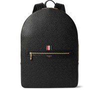 Pebble-grain Leather Backpack