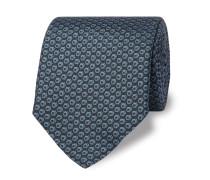 8cm Printed Mulberry Silk Tie