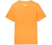 Slim-fit Garment-dyed Cotton-jersey T-shirt