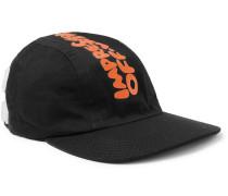 Logo-print Cotton-twill Baseball Cap - Black