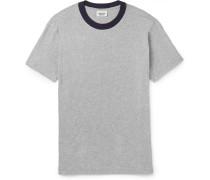 Andre Mélange Cotton-jersey T-shirt