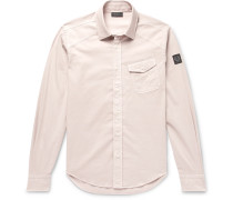 Stretch-cotton Shirt - Neutral