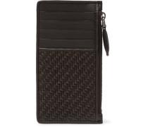 Pelle Tessuta Leather Zipped Cardholder