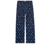 Nelson Printed Cotton Pyjama Trousers