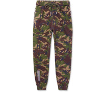 Printed Cotton-jersey Sweatpants