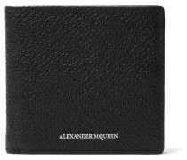 Embossed Pebble-grain Leather Billfold Wallet