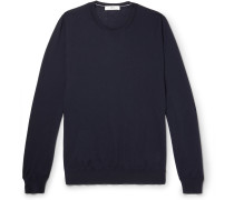 Cashmere Sweater - Navy