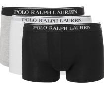 Three-pack Stretch-cotton Jersey Boxer Briefs