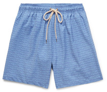 Beacon Mid-length Printed Swim Shorts