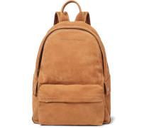 Full-Grain Nubuck Backpack